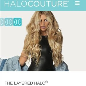 New.  22 inch halo Couture #60